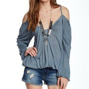 NEW Free People Adelia Off The Shoulder Top SM